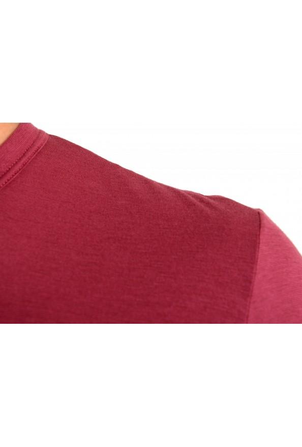 Dolce & Gabbana Men's Purple Long Sleeve Crewneck T-Shirt : Picture 4