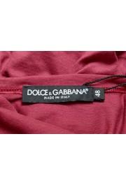 Dolce & Gabbana Men's Purple Long Sleeve Crewneck T-Shirt : Picture 5