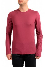 Dolce & Gabbana Men's Purple Long Sleeve Crewneck T-Shirt