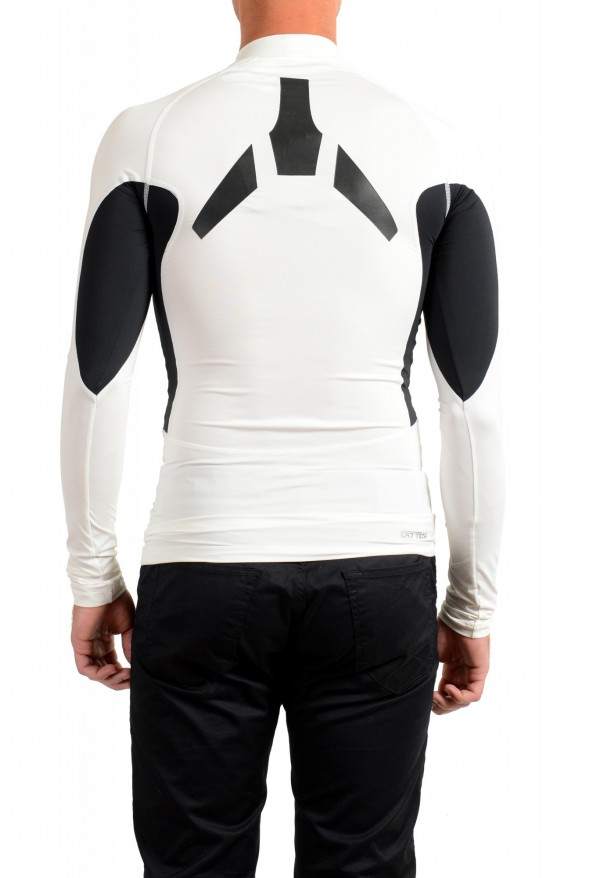 "Emporio Armani EA7 ""Tech M"" Men's White High Neck Long Sleeve T-Shirt: Picture 3"