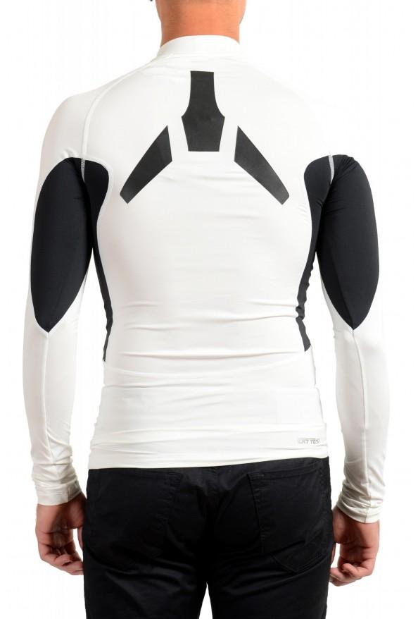 "Emporio Armani EA7 ""Tech M"" Men's White High Neck Long Sleeve T-Shirt: Picture 4"