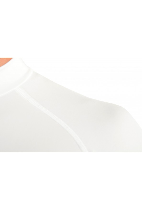 "Emporio Armani EA7 ""Tech M"" Men's White High Neck Long Sleeve T-Shirt: Picture 5"