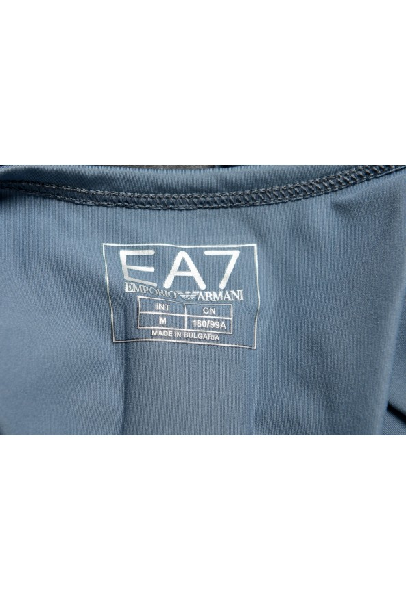 "Emporio Armani EA7 ""Tech M"" Men's Gray Sleeveless Tank Top: Picture 4"