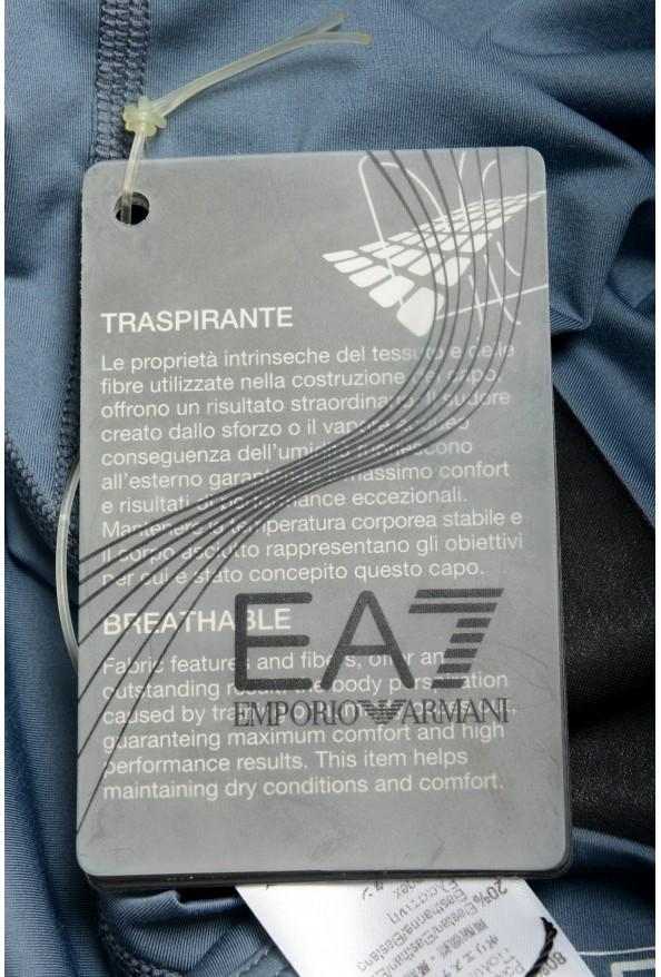 "Emporio Armani EA7 ""Tech M"" Men's Gray Sleeveless Tank Top: Picture 5"