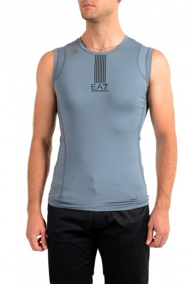 """Emporio Armani EA7 """"Tech M"""" Men's Gray Sleeveless Tank Top"""