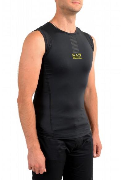 "Emporio Armani EA7 ""Tech M"" Men's Black Sleeveless Tank Top : Picture 2"
