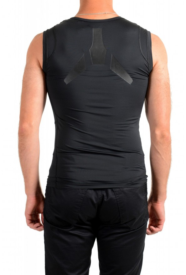 "Emporio Armani EA7 ""Tech M"" Men's Black Sleeveless Tank Top : Picture 3"