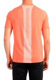 "Hugo Boss Men's ""Thilix"" Slim Fit Orange Logo Print Crewneck T-Shirt: Picture 3"