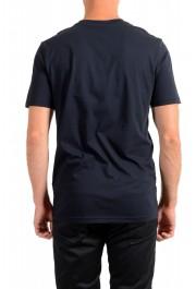 "Hugo Boss Men's ""Teally"" Black Logo Print Crewneck T-Shirt: Picture 3"
