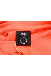 "Hugo Boss Men's ""Tee 4"" Black Logo Print Crewneck T-Shirt: Picture 5"