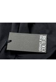 Versace Jeans Couture Men's Logo Print Black Short Sleeve T-Shirt: Picture 6