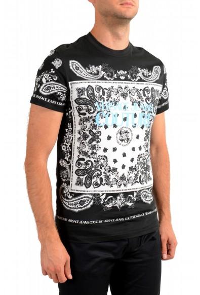 Versace Jeans Couture Men's Logo Print Multi-Color Short Sleeve T-Shirt: Picture 2