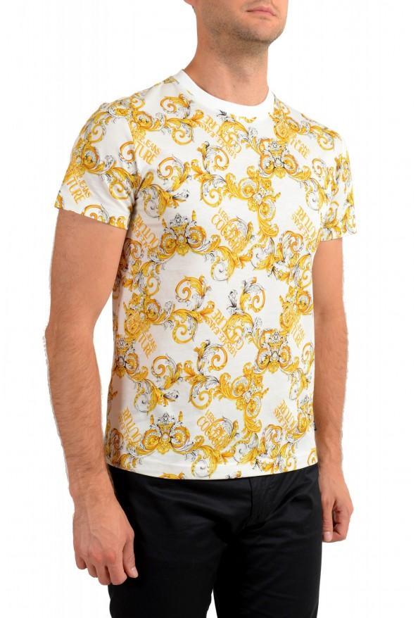 Versace Jeans Couture Men's Logo Barocco Print Multi-Color Short Sleeve T-Shirt: Picture 2