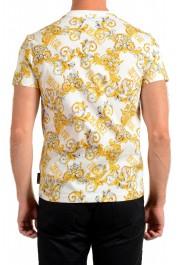 Versace Jeans Couture Men's Logo Barocco Print Multi-Color Short Sleeve T-Shirt: Picture 3