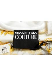 Versace Jeans Couture Men's Logo Barocco Print Multi-Color Short Sleeve T-Shirt: Picture 5