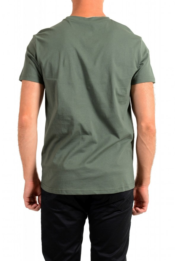 "Hugo Boss Men's ""T-Shirt RN"" Green Logo Print Crewneck T-Shirt: Picture 3"