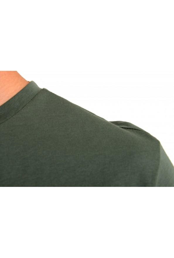 "Hugo Boss Men's ""T-Shirt RN"" Green Logo Print Crewneck T-Shirt: Picture 4"