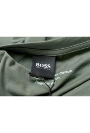 "Hugo Boss Men's ""T-Shirt RN"" Green Logo Print Crewneck T-Shirt: Picture 5"