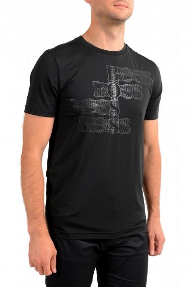 "Hugo Boss Men's ""Teetech1"" Slim Fit Stretch Black Crewneck T-Shirt: Picture 2"
