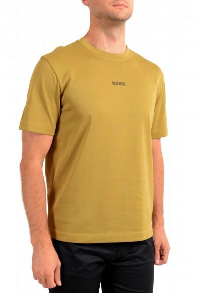 "Hugo Boss Men's ""Teepaper1"" Olive Green Crewneck T-Shirt: Picture 2"