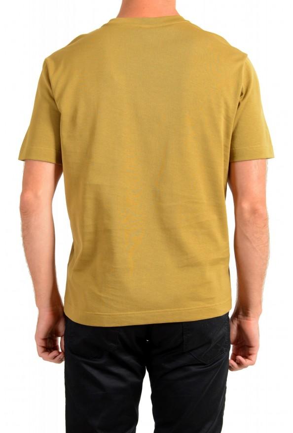 "Hugo Boss Men's ""Teepaper1"" Olive Green Crewneck T-Shirt: Picture 3"