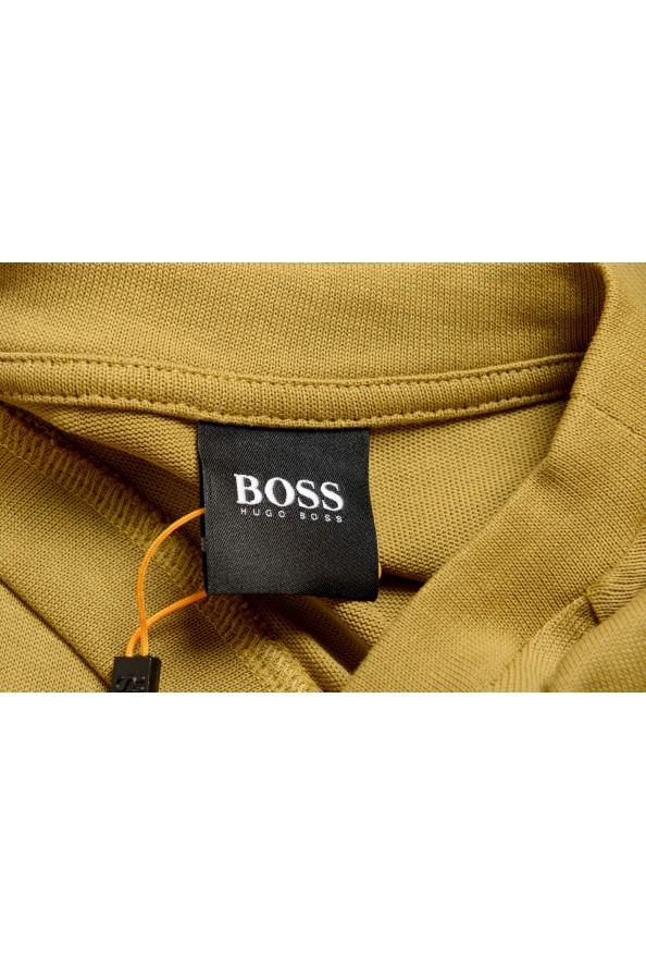 "Hugo Boss Men's ""Teepaper1"" Olive Green Crewneck T-Shirt: Picture 5"