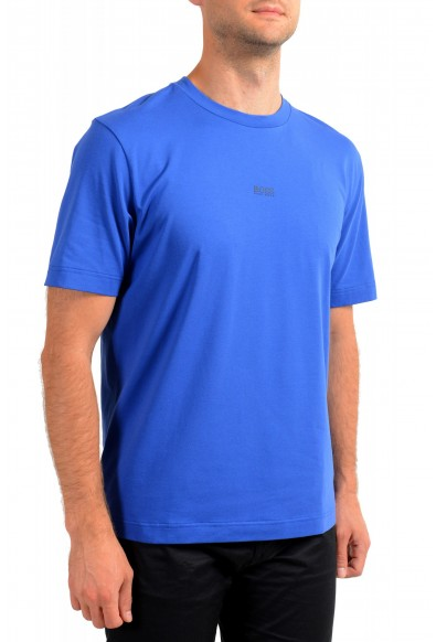 """Hugo Boss Men's """"TChup"""" Relaxed Fit Blue Crewneck T-Shirt: Picture 2"""