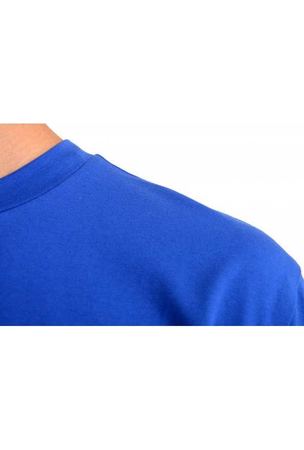"""Hugo Boss Men's """"TChup"""" Relaxed Fit Blue Crewneck T-Shirt: Picture 4"""