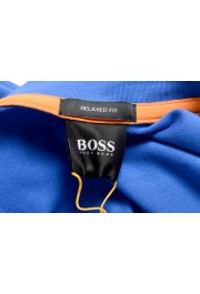 """Hugo Boss Men's """"TChup"""" Relaxed Fit Blue Crewneck T-Shirt: Picture 5"""