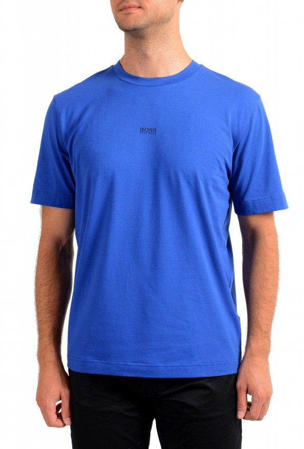 "Hugo Boss Men's ""TChup"" Relaxed Fit Blue Crewneck T-Shirt"