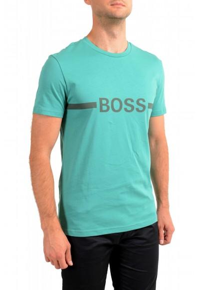 "Hugo Boss Men's ""T-Shirt RN"" Slim Fit Logo Print Crewneck T-Shirt : Picture 2"