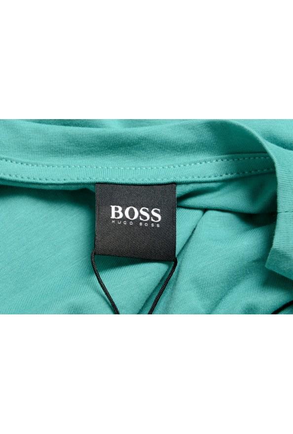 "Hugo Boss Men's ""T-Shirt RN"" Slim Fit Logo Print Crewneck T-Shirt : Picture 5"