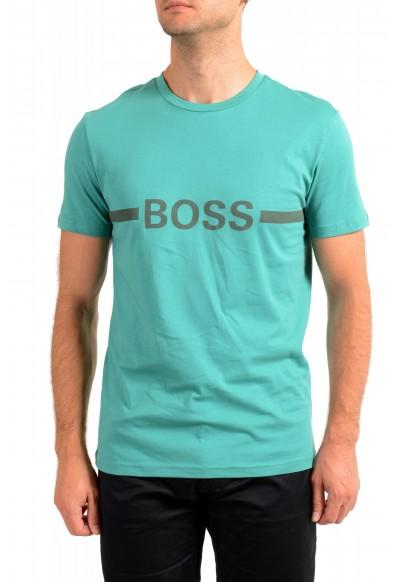"Hugo Boss Men's ""T-Shirt RN"" Slim Fit Logo Print Crewneck T-Shirt"