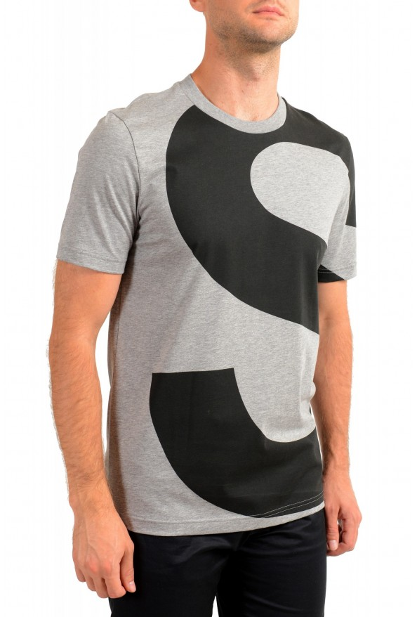 "Hugo Boss Men's ""Tiburt 230"" Gray Crewneck T-Shirt: Picture 2"