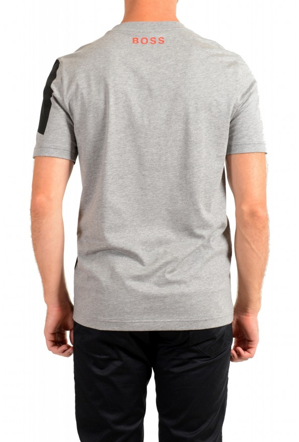 "Hugo Boss Men's ""Tiburt 230"" Gray Crewneck T-Shirt: Picture 3"
