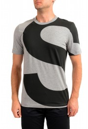 "Hugo Boss Men's ""Tiburt 230"" Gray Crewneck T-Shirt"