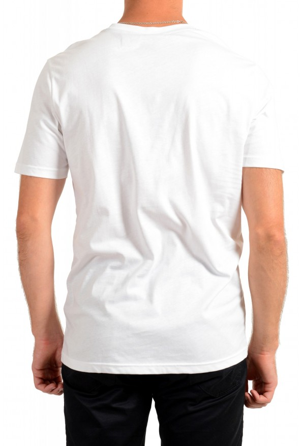 "Hugo Boss Men's ""Terisk"" White Graphic Print Crewneck T-Shirt: Picture 3"