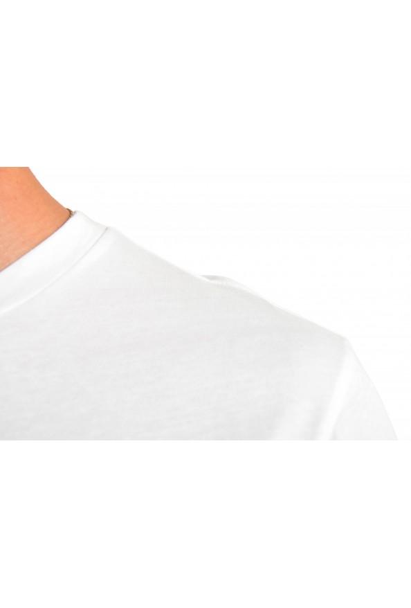 "Hugo Boss Men's ""Terisk"" White Graphic Print Crewneck T-Shirt: Picture 4"