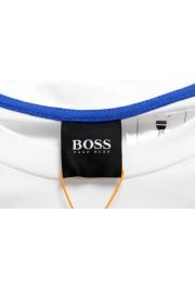 "Hugo Boss Men's ""Terisk"" White Graphic Print Crewneck T-Shirt: Picture 5"
