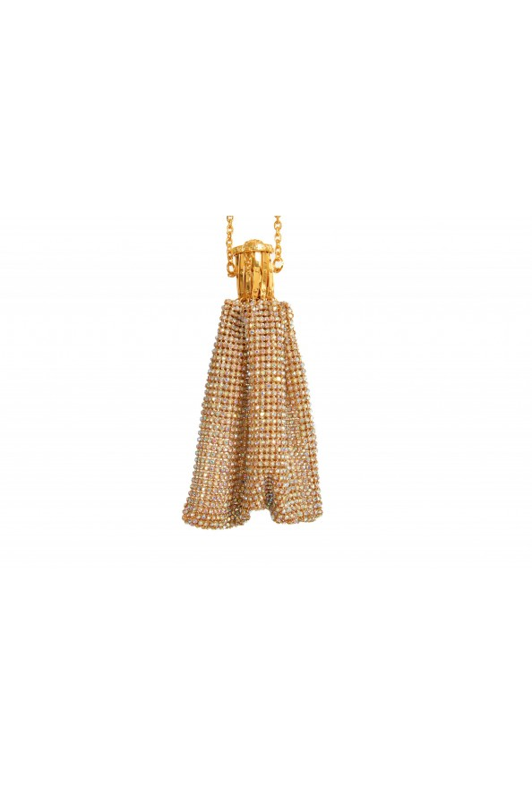 "Versace Women's ""Oro Tribute"" Medusa Logo Sparkle Mini Bag: Picture 2"