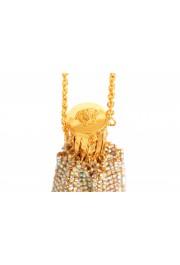 "Versace Women's ""Oro Tribute"" Medusa Logo Sparkle Mini Bag: Picture 4"