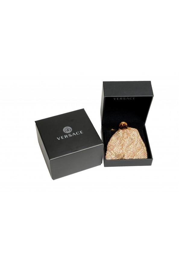 "Versace Women's ""Oro Tribute"" Medusa Logo Sparkle Mini Bag: Picture 7"