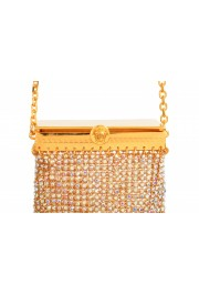 "Versace Women's ""Oro Tribute"" Medusa Logo Sparkle Mini Bag: Picture 3"