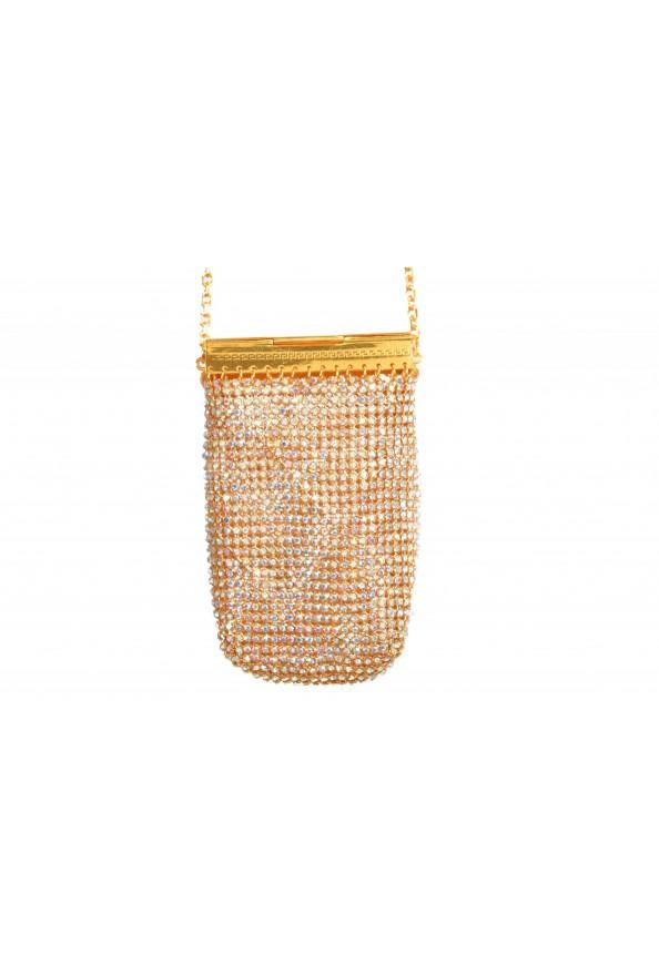 "Versace Women's ""Oro Tribute"" Medusa Logo Sparkle Mini Bag: Picture 5"