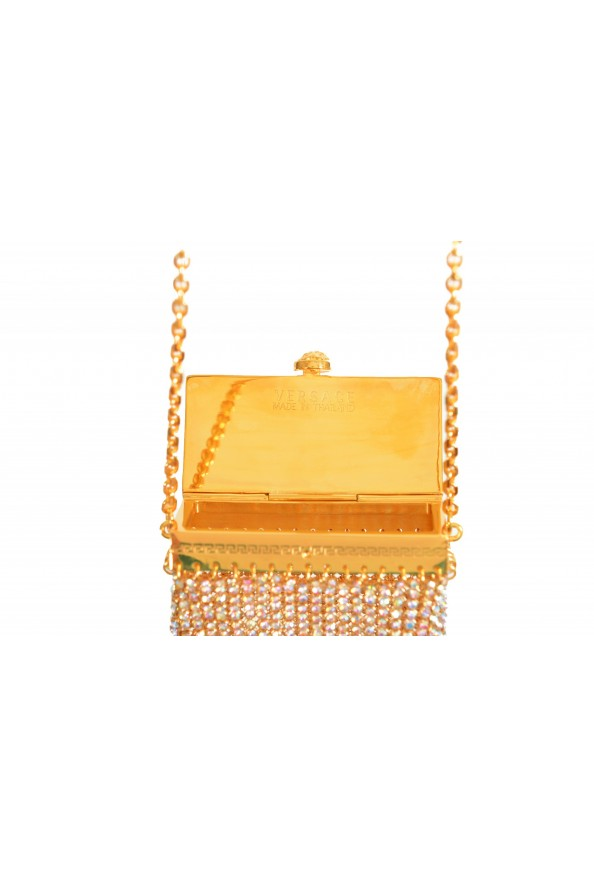 "Versace Women's ""Oro Tribute"" Medusa Logo Sparkle Mini Bag: Picture 6"