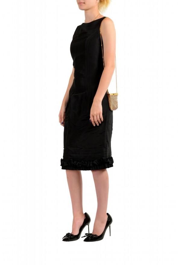 "Versace Women's ""Oro Tribute"" Medusa Logo Sparkle Mini Bag: Picture 8"