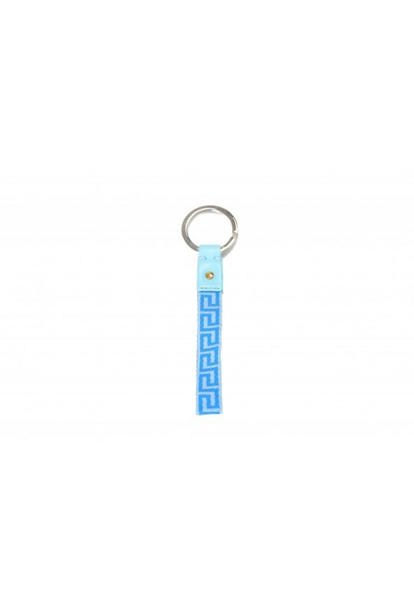 Versace Blue Gold Logo Medusa Key Chain: Picture 2