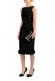 Versace Women's Black Logo Print Leather Wallet: Picture 6