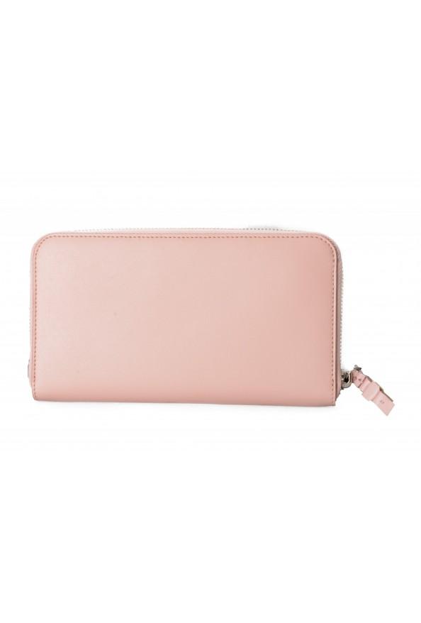 Salvatore Ferragamo Women's Pink 100% Leather Zip Around Wallet: Picture 3