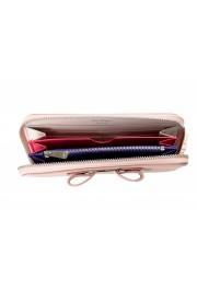Salvatore Ferragamo Women's Pink 100% Leather Zip Around Wallet: Picture 4